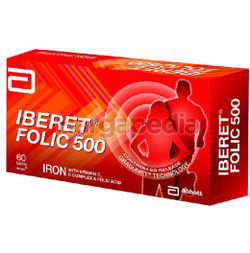 Iberet Folic 500 5x6s
