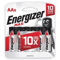 Energizer Max Alkaline Battery 6AA
