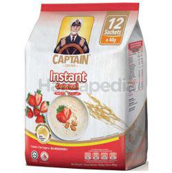 Captain Oats Instant Oatmeal 12x40gm