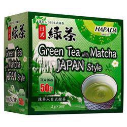 Harada Green Tea With Matcha 50x2gm