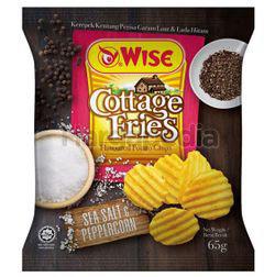 Wise Cottage Fries Potato Chips Sea Salt & Peppercorn 65gm