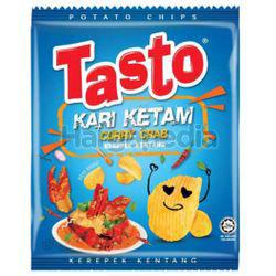 Tasto Flat Cut Potato Chips Curry Crab 55gm