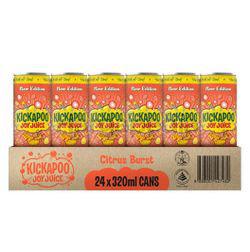 Kickapoo Joy Juice  Citrus Burst  24x320ml