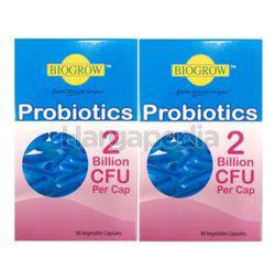 Biogrow Probiotics Veg Cap 2x90s