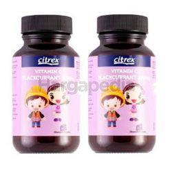 Citrex Vitamin C Blackcurrant 100mg 2x90s