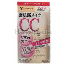 Kiss Me Ferme Skincare CC Milk UV 01 Light Ocher 1s