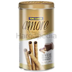 Amore Wafer Roll Peanut Chocolate 300gm