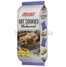 Amore Oat Cookies Blackcurrant 162gm