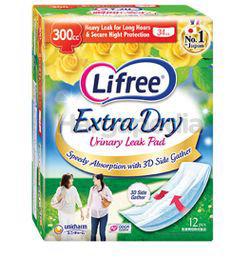 Lifree Extra Dry Pad 300CC 12s