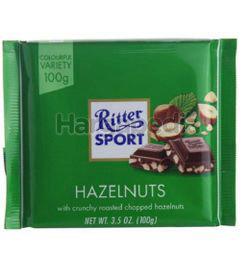 Ritter Sport Chocolate Hazelnut 100gm