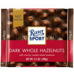 Ritter Sport Chocolate Dark Whole Hazelnuts 100gm