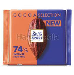 Ritter Sport Chocolate 74% Intense 100gm