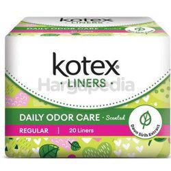 Kotex Fresh Daily Odor Care Pantyliner Regular Scented Daun Sirih 20s