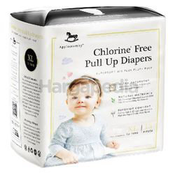 Applecrumby Chlorine Free Pull Up Diapers XL18