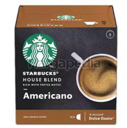 Starbucks Americano House Blend 12 Cap 120gm