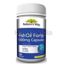 Nature's Way Fish Oil Forte 120s