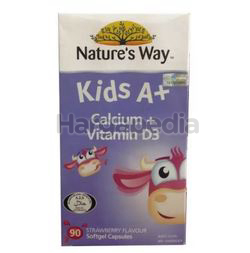 Nature's Way Kids A+ Calcium + Vit D3 90s