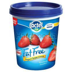 Lactel Fat Free Yogurt Strawberry 470gm