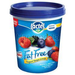 Lactel Fat Free Yogurt Mixed Berries 470gm