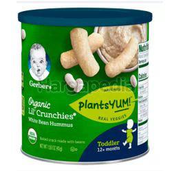 Gerber Organic Lil' Crunchies White Bean Hummus 45gm