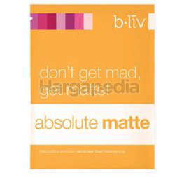 b.liv Absolute Matte Active Charcoal Clarifying Mask 1s