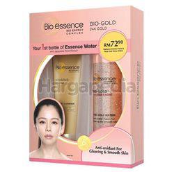 Bio-Essence 24k Bio-Gold Skin Radiance Cleanser 100gm + Rose Gold Water 100ml