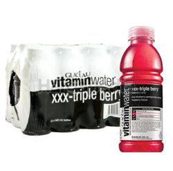 Glaceau Vitamin Water XXX Triple Berry 12x500ml