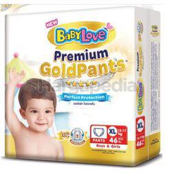 Baby Love Premium Gold Pants Jumbo Pack XL46