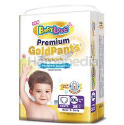 Baby Love Premium Gold Pants Jumbo Pack XXL38