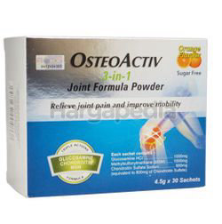 OsteoActiv 3in1 Joint Formula Powder 30x4.5gm