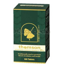 Thomson Activated Ginkgo 40mg 500s