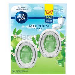 Ambi Pur Bathroom Fresh Refreshing Apple 2x6ml