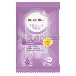 Betadine Fem Daily Wipes Gentle Protection 10s