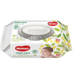 Huggies Baby Wipes Clean Care 80s
