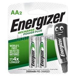 Energizer Rechargeable Battery 2AA
