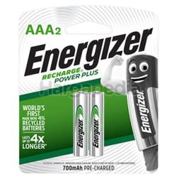 Energizer Rechargeable Battery 2AAA