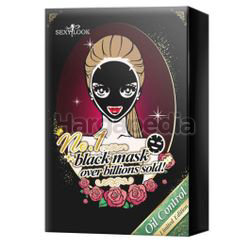 Sexy Look Black Mask Oil Control 4s