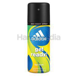Adidas Men Get Ready Deodorant Spray 150ml
