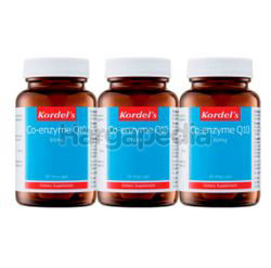 Kordel's Co-Enzyme Q10 60mg 3x30s