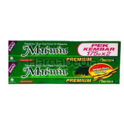 Mu'min Premium Extra Kayu Sugi Toothpaste 2x250gm
