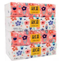 KCA Ultra Soft Pack Tissue 4x130s