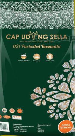 Cap Udang Sella 1121 Parboiled Basmathi 5kg