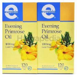Eurobio Evening Primrose Oil 1000mg 2x120s