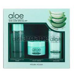 Holika Holika Aloe Soothing Essence Skin Care Trial Set