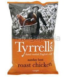 Tyrrell's Roast Chicken Potato Chips 150gm