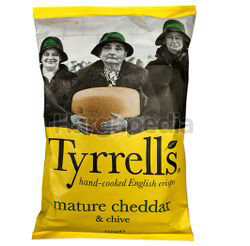 Tyrrell's Cheddar Cheese Potato Chips 150gm