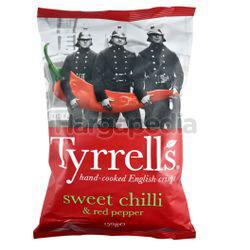 Tyrrell's Sweet Chilli & Red Pepper Potato Chips 150gm