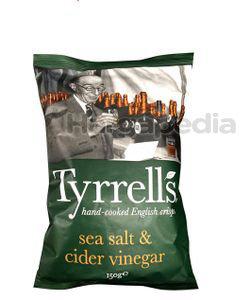 Tyrrell's Cider Vinegar & Sea Salt Potato Chips 150gm