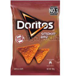Doritos Tortilla Chips Smokin BBQ 198.4gm