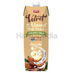UFC Velvet Almond Milk Unsweetened 1lit